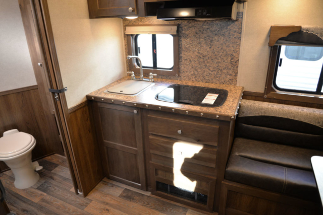 Kitchen in SL8X9DR Laramie | SMC Trailers