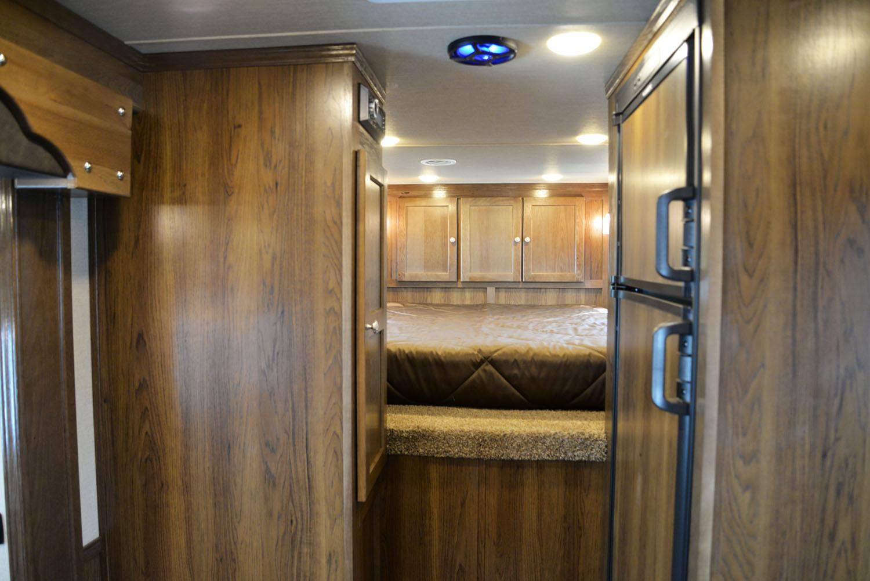 Bedroom in SLX11SRK LARAMIE   SMC TRAILERS