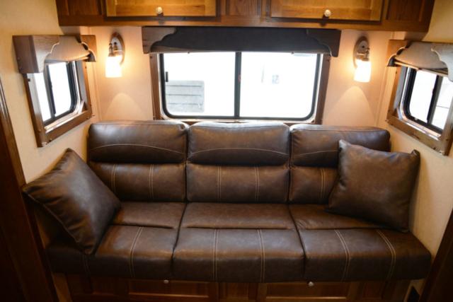 Sofa in SLX11SRK LARAMIE | SMC TRAILERS