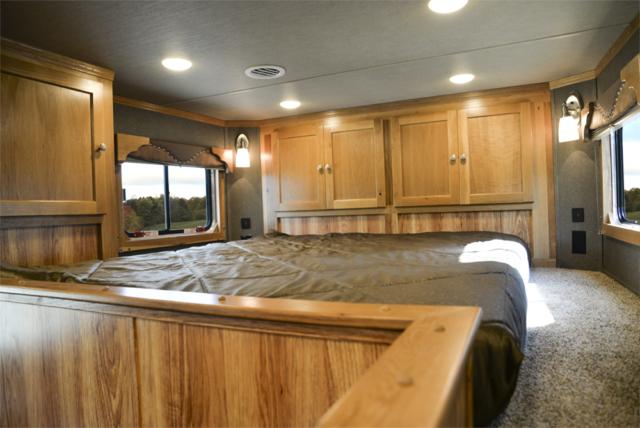 Bedroom in SL8X916SR Livestock   SMC Trailers