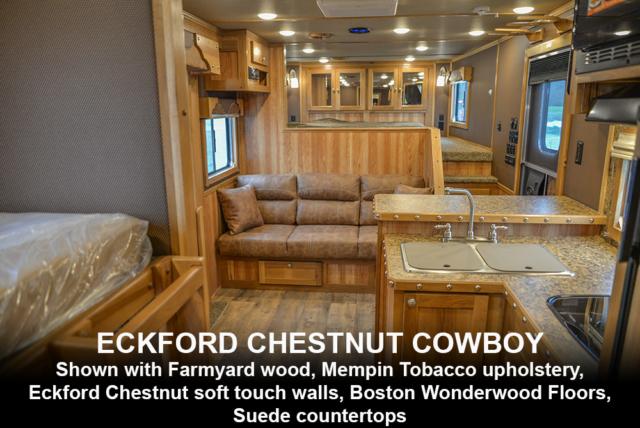 Eckford Chestnut Cowboy Decor | SMC Laramie Edition