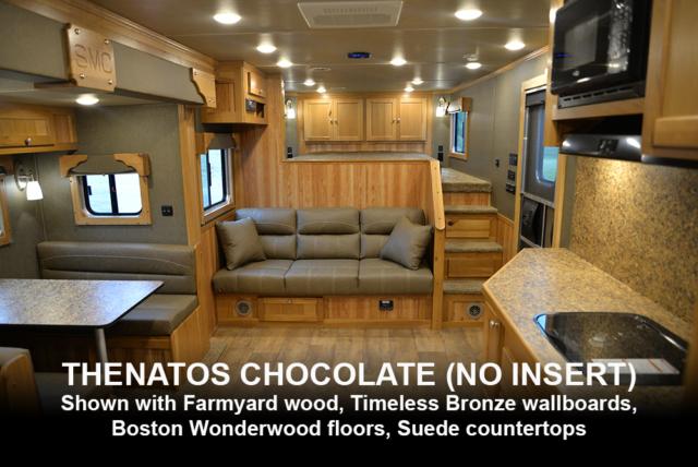 Standard Thenatos Chocolate | SMC Laramie Decor Options