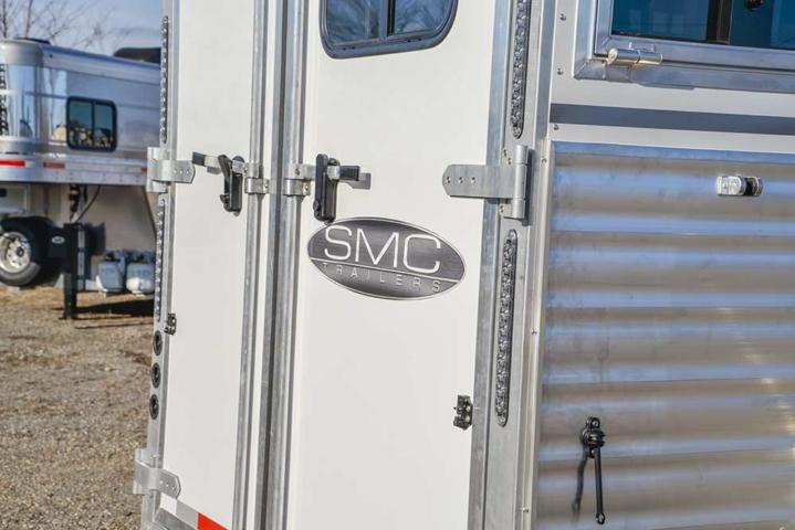 Rear of an SMC Horse Trailer