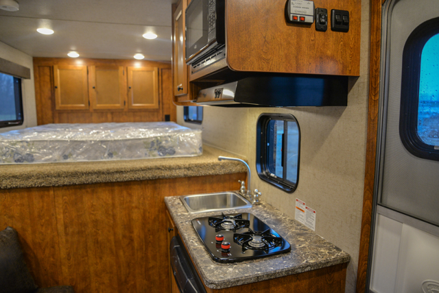 Kitchen in Patriot SPX7FK | SMC Trailers