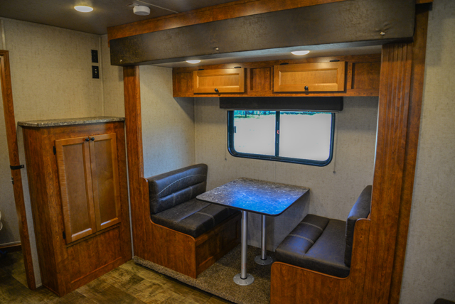 Dinette in Patriot SP8X13SSR | SMC Trailers