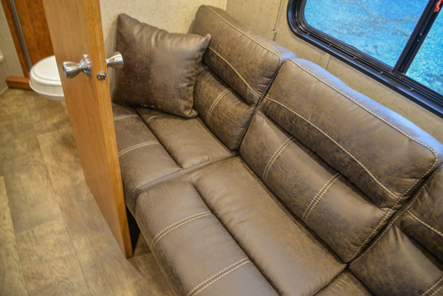Sofa in Patriot SPX7FK | SMC Trailers