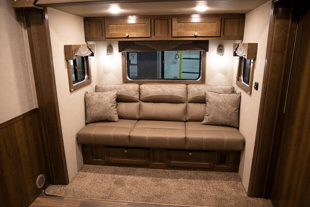 Sofa in a SL8X11SRK   SMC Trailers