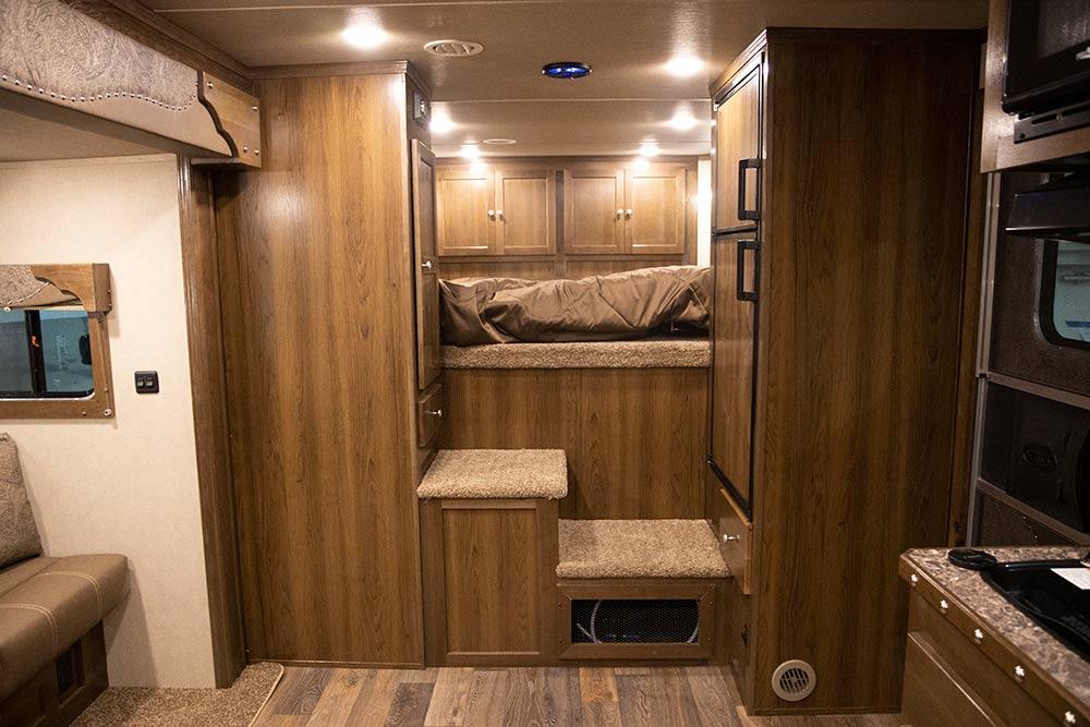 Living Quarters in a SL8X11SRK   SMC Trailers