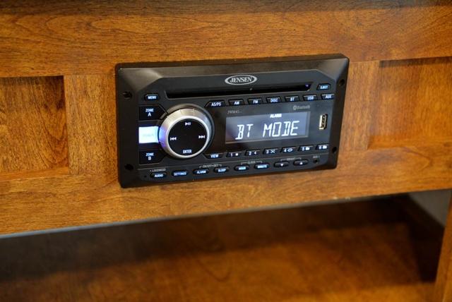 Sound System in Patriot SP8X13SSR   SMC Trailers