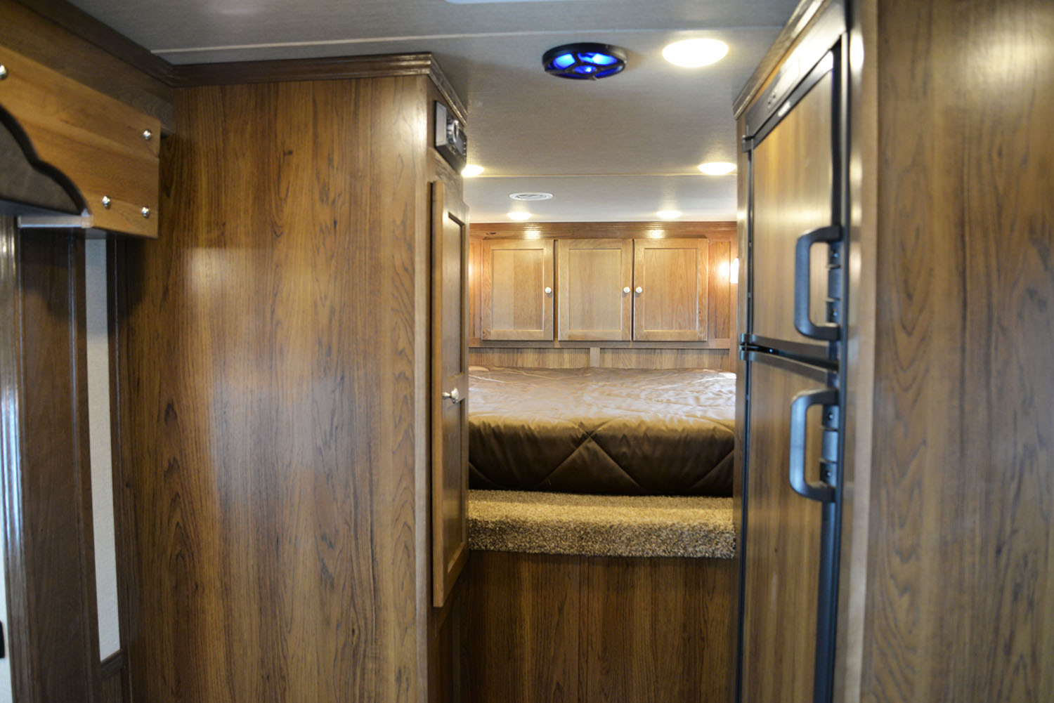 Bedroom in SLX11SRK LARAMIE | SMC TRAILERS