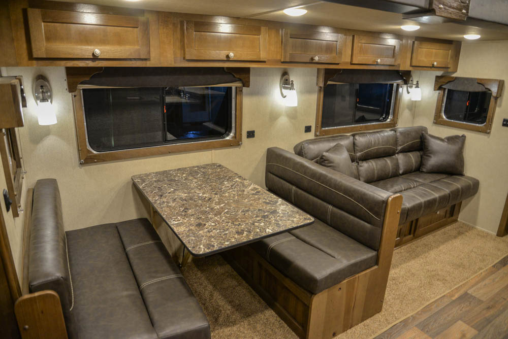Slide-out in LTH8X18SCEB Laramie Edition Toy Hauler | SMC Trailers
