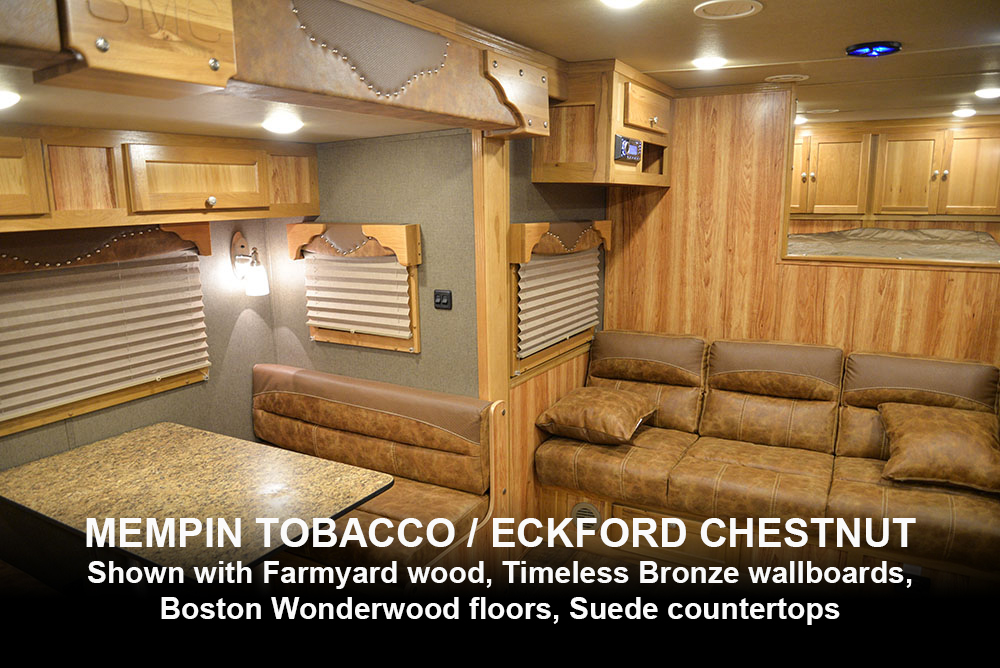 Mempin Tobacco / Eckford Chestnut Western Decor | Laramie Edition