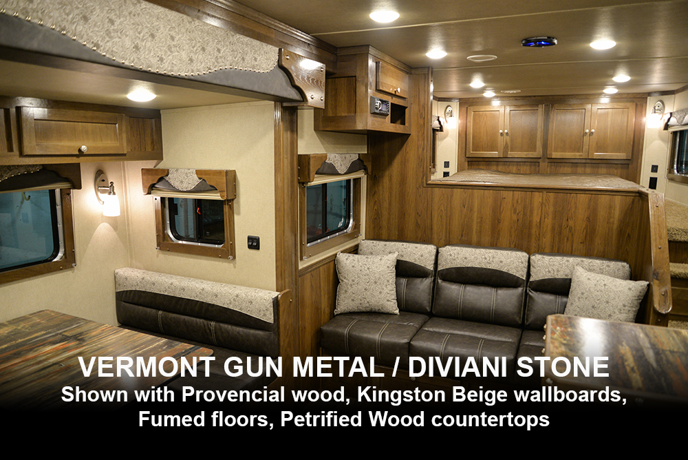 Vermont Gun Metal / Diviani Stone Western Decor | Laramie Edition