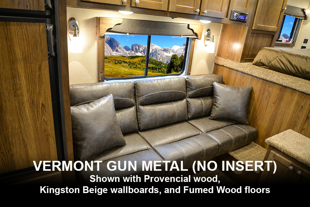 Standard Vermont Gun Metal | SMC Laramie Decor Options