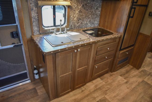 Kitchen in a SL8X14SSR | SMC Trailers