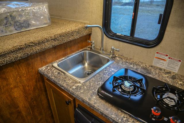 Kitchen in Patriot SPX7FK | SMC Trailers