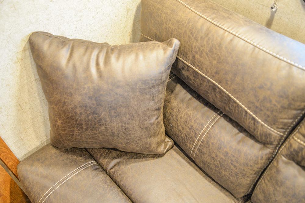Sofa in Patriot SPX7FK | SMC Trailers