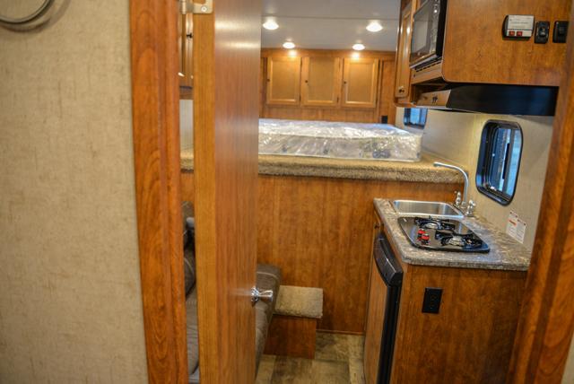 Living space in Patriot SPX7FK | SMC Trailers