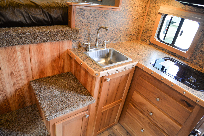 Kitchen sink in SLE81611SRK Livestock | SMC Trailers